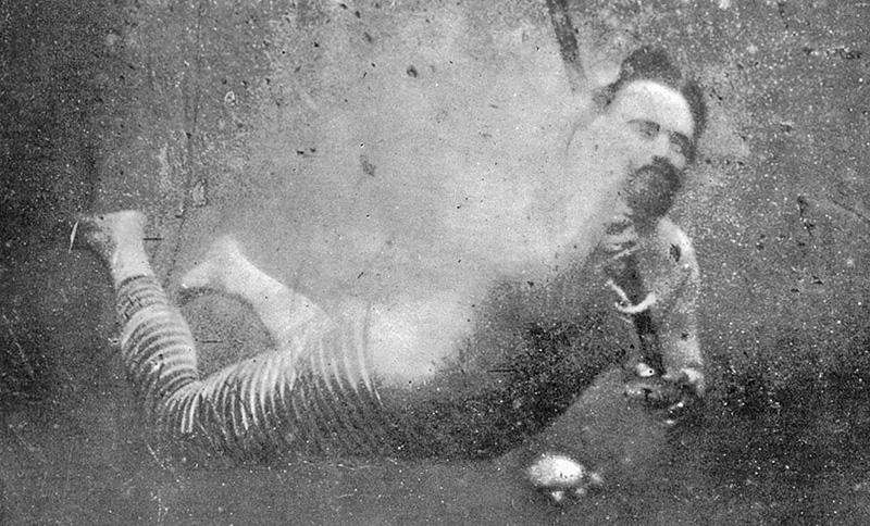 First underwater self-portrait (selfie?)