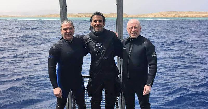 Deepest rebreather dive by blind diver [CCR | Ocean]