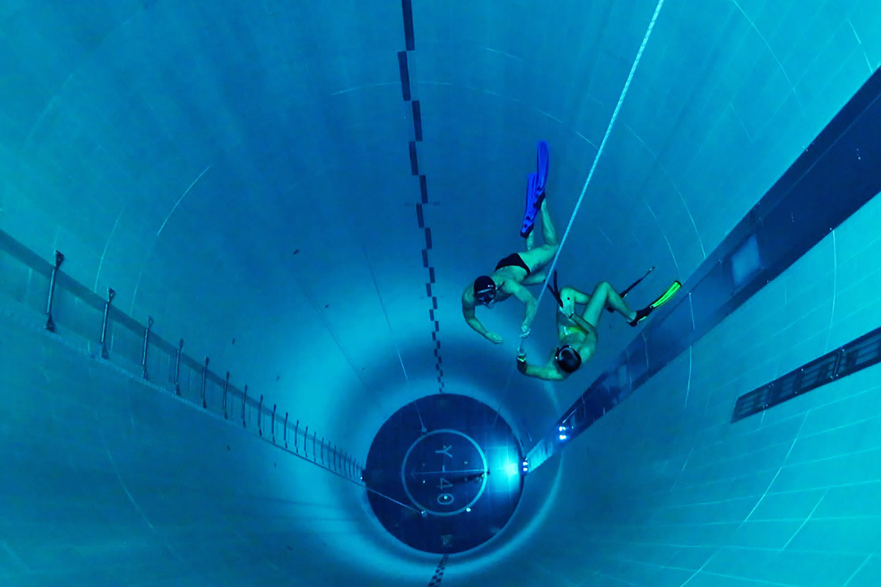 Deepest Diving Tank And Deepest Pool