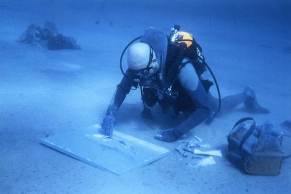 Most underwater paintings