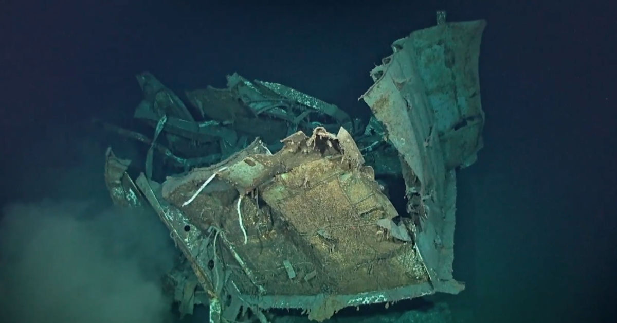 Deepest shipwreck ever found