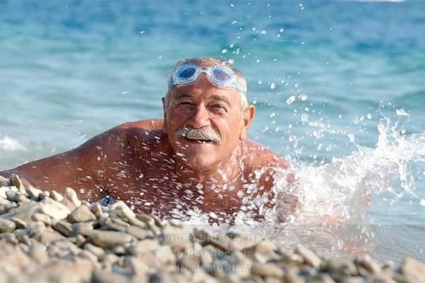 Longest ocean swim