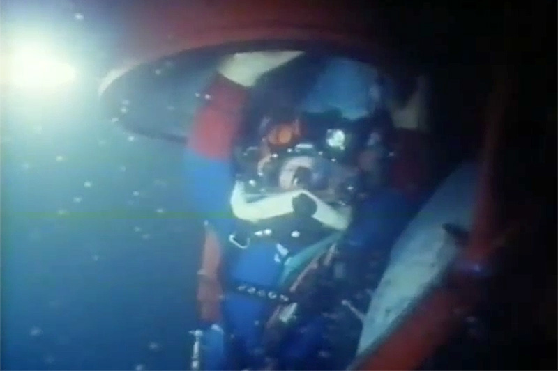 Deepest saturation dive (Openwater)