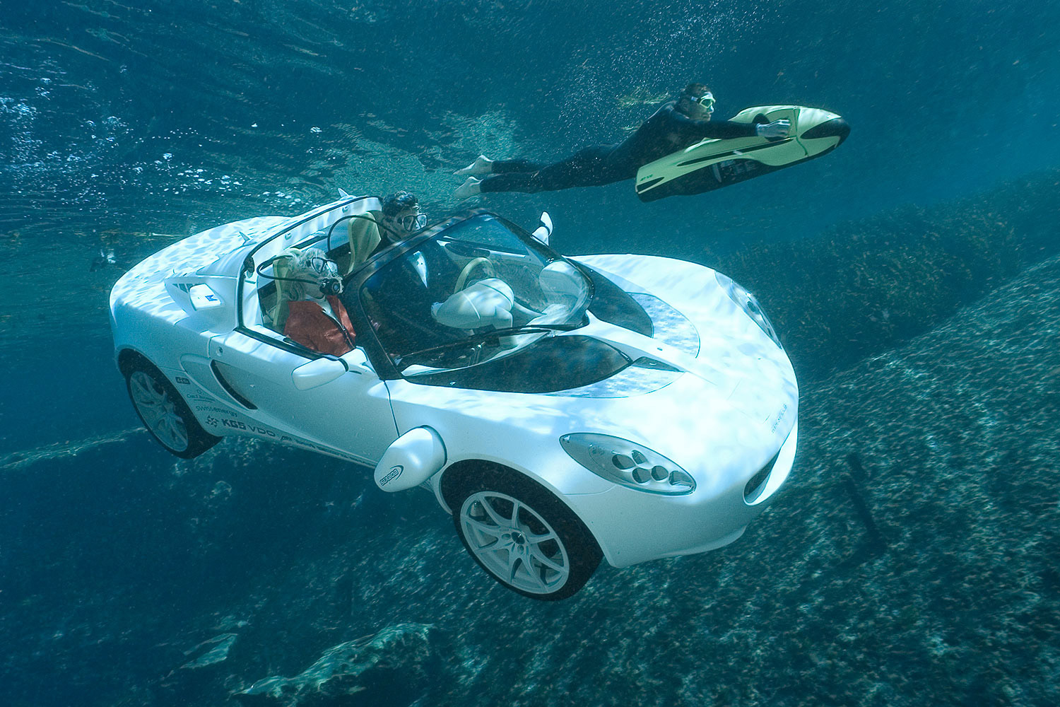 Real Underwater James Bond Car!