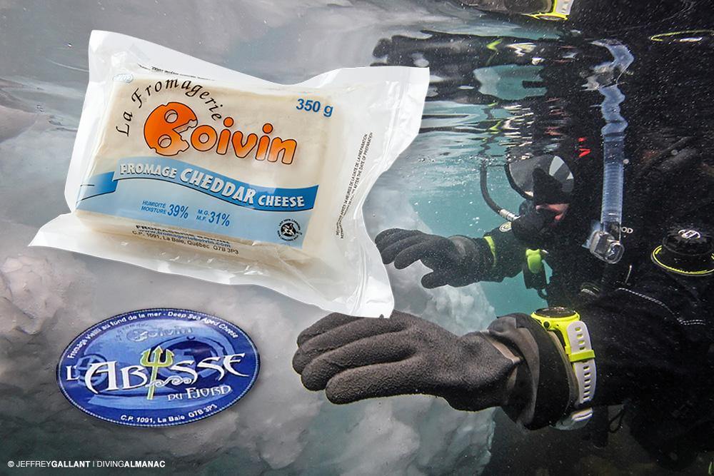 Underwater aging (Cheese)